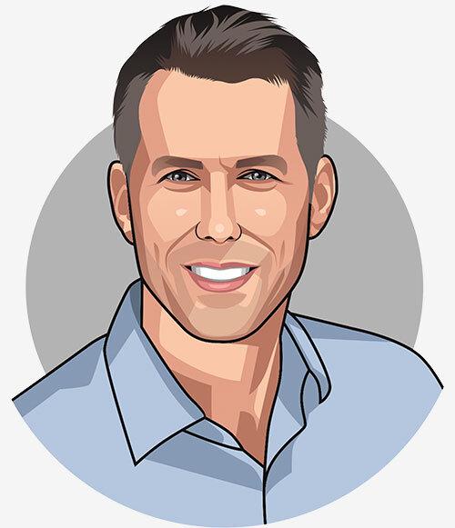 Caricature of Scott